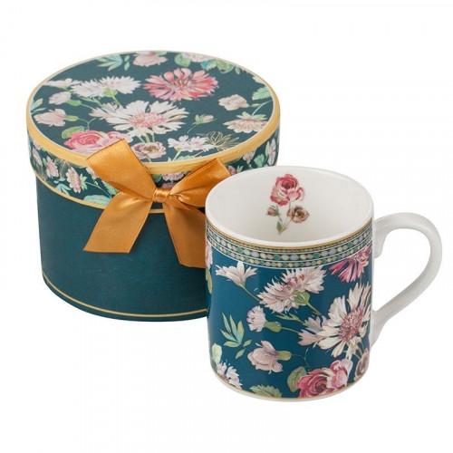 Кафе + кутия MUG - Полски цветя на супер цена от Neostyle.bg