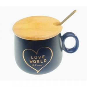 Луксозна чаша за кафе Love World