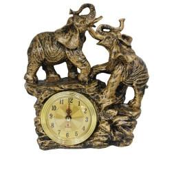 Абстрактен часовник слон