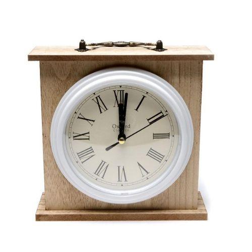 Дървен часовник на супер цена от Neostyle.bg