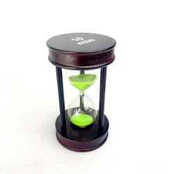 Пясъчен часовник от дърво и стъкло-10 мин