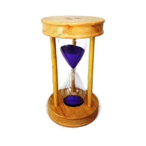 Пясъчен часовник от дърво и стъкло-15 мин на супер цена от Neostyle.bg