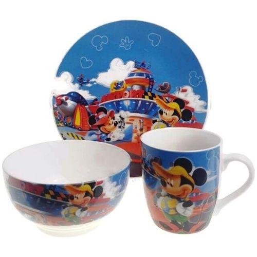 Детски комплект за хранене Мики Маус на супер цена от Neostyle.bg