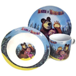 Детски сервиз Maша и мечока