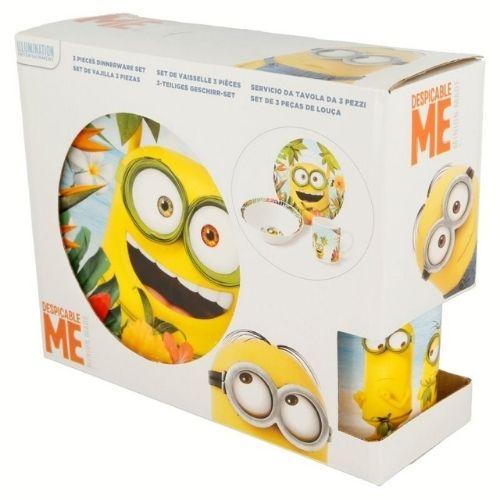 Детски сервиз за хранене Minions на супер цена от Neostyle.bg