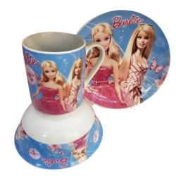 Детски сервиз за хранене-Barbie