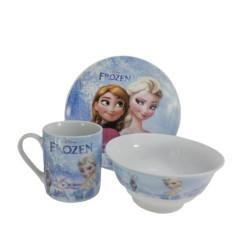 Детски сервиз за хранене Замръзналото кралство
