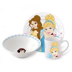 Детски сервиз за хранене Принцесите от Дисни