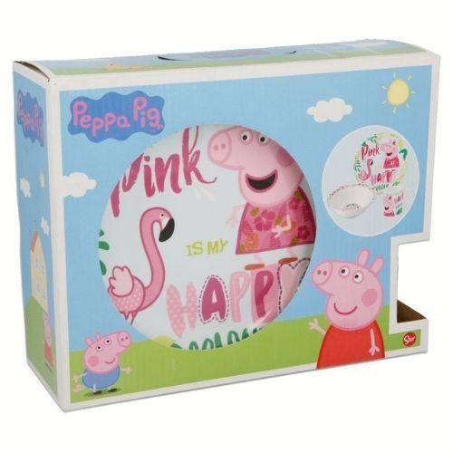 Детски сервиз за хранене Peppa pig на супер цена от Neostyle.bg