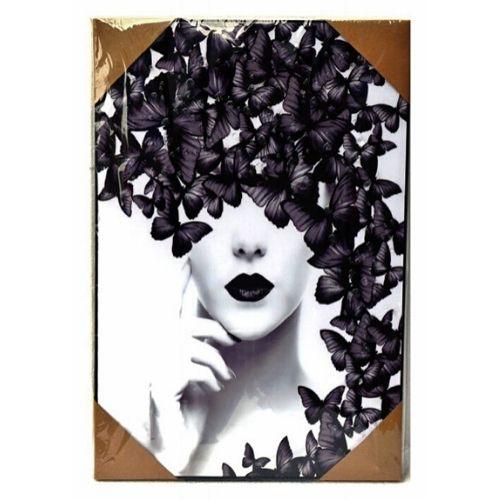 Арт картина Жена с Пеперуда на супер цена от Neostyle.bg
