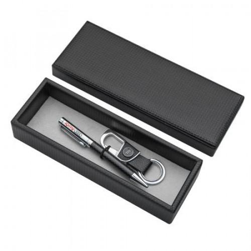 Комплект химикал и ключодържател с логото на Audi на супер цена от Neostyle.bg