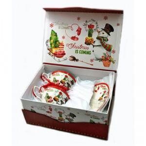 Коледаен Сервиз за чай/кафе