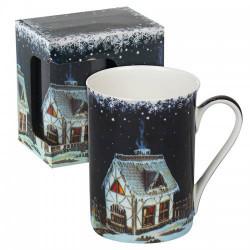 Коледна чаша Къща сладкиш MUG класик