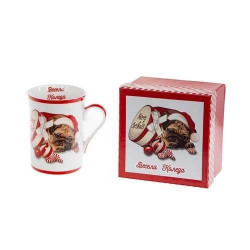 Коледна чаша Кученце