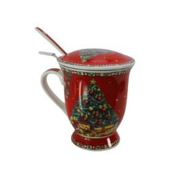Порцеланова чаша с колени мотиви