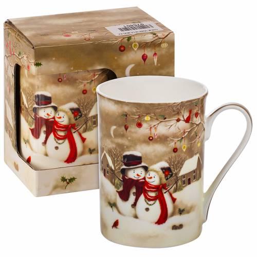 Коледна чаша Снежни човечета MUG на супер цена от Neostyle.bg