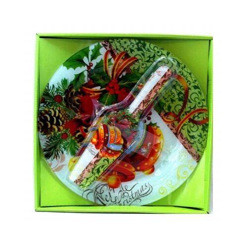 Комплект чиния + шпатула с коледни мотиви на супер цена от Neostyle.bg