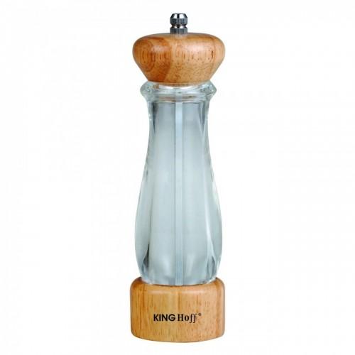 Дървена мелничка за сол пипер
