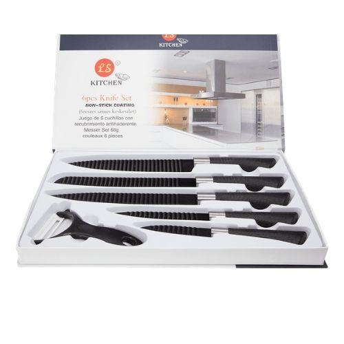 Комплект от 6 ножа Black Rose Collection на супер цена от Neostyle.bg