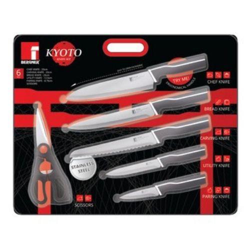 Комплект от 5 ножа с ножица KYOTO на супер цена от Neostyle.bg