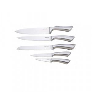 Комплект кухненски ножове на поставка