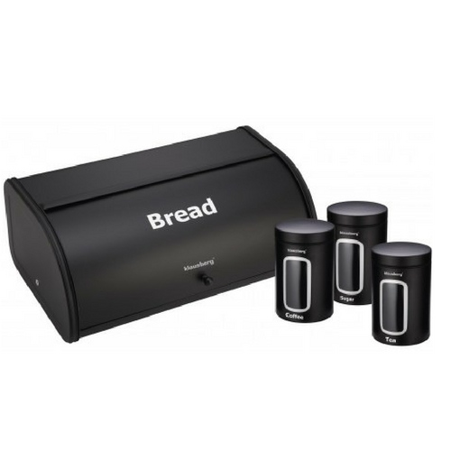 Кутия за хляб + комплект за подправки