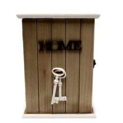 Дървена кутия за ключове Home