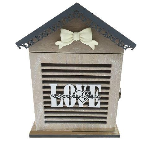 Дървена кутия за ключове винтидж на супер цена от Neostyle.bg