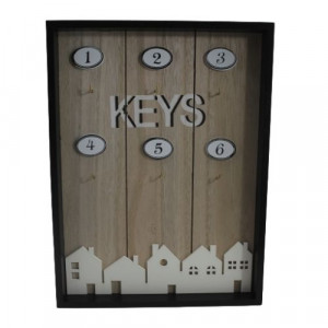 Дървена кутия за ключове