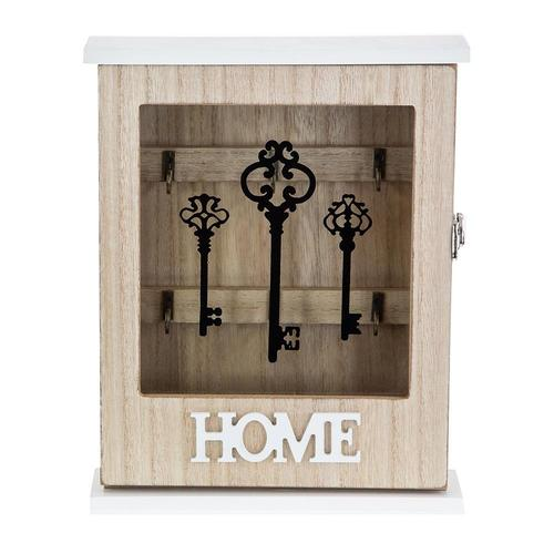 Дървена кутия за ключове Home на супер цена от Neostyle.bg