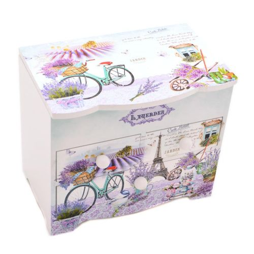 Кутия за бижута Лавандула