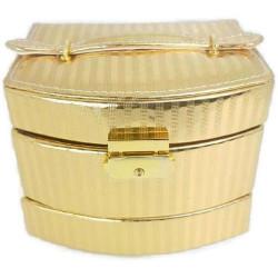 Кутия за бижута - златна