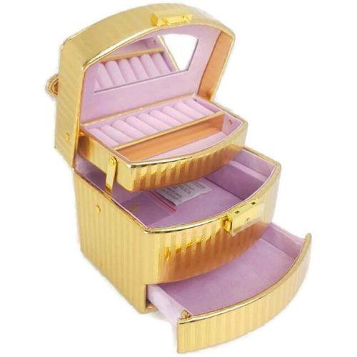Кутия за бижута - златна на супер цена от Neostyle.bg