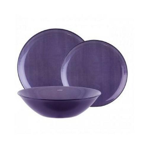 Сервиз за хранене Arty Purple Luminarc 18 части на супер цена от Neostyle.bg