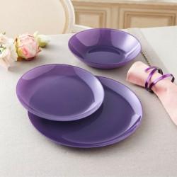 Сервиз за хранене Arty Purple Luminarc 18 части