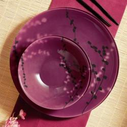 Сервиз за хранене Kashima Fuchsia Luminarc 19.ч