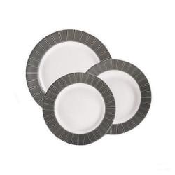 Сервиз за хранене Astre Noir Luminarc 18 ч.