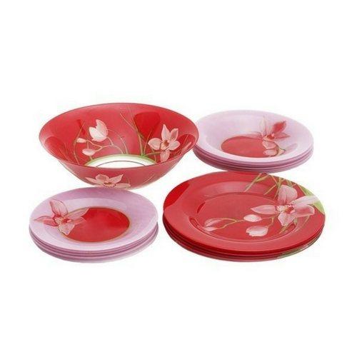Сервиз за хранене Luminarc Red Orchis на супер цена от Neostyle.bg