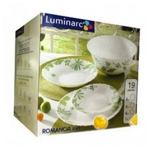 Сервиз за хранене Luminarc Romancia Green 19 ч.