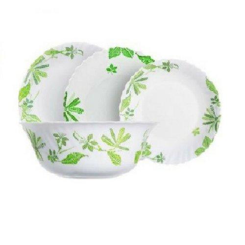 Сервиз за хранене Luminarc Romancia Green 19 ч. на супер цена от Neostyle.bg