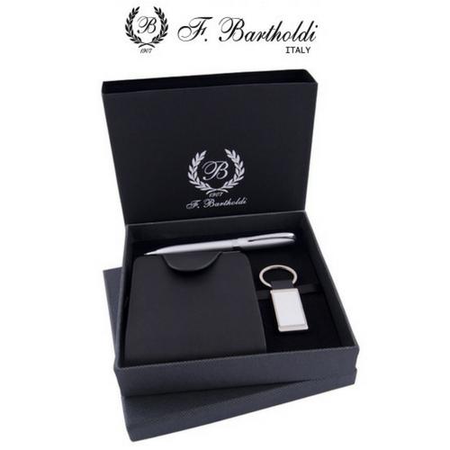 Комплект химикалка, портфейл и ключодържател F.Bartholdi на супер цена от Neostyle.bg