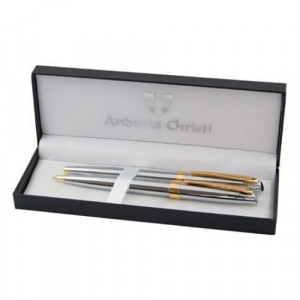 Комплект ролер и химикалка Crown