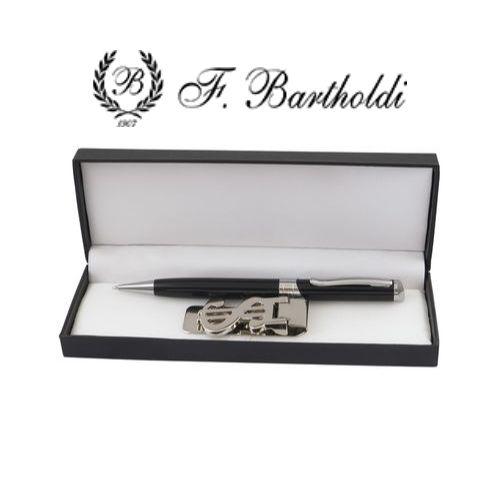 Комплект химикалка и щипка за пари