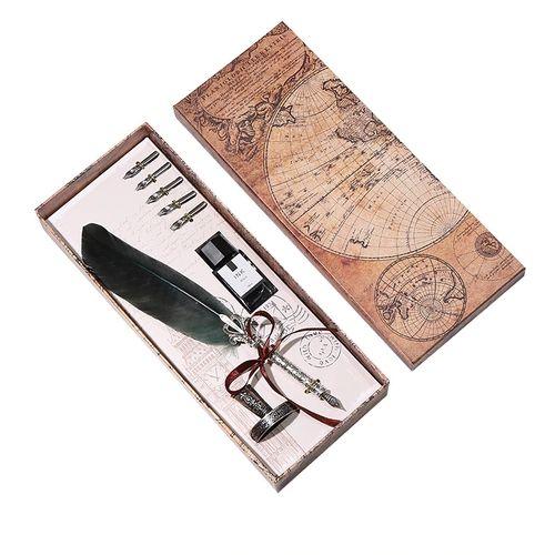 Оригинална писалка с естестжено перо