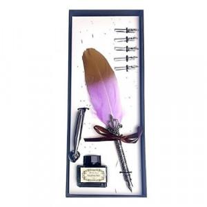 Луксозна писалка с естествено перо