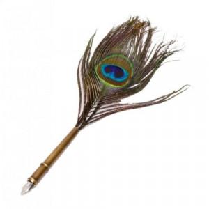 Стилна писалка с естествено перо
