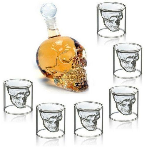 Комплект за уиски Череп на супер цена от Neostyle.bg