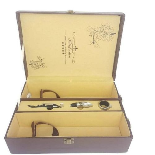 Кутия за вино с аксесоари на супер цена от Neostyle.bg