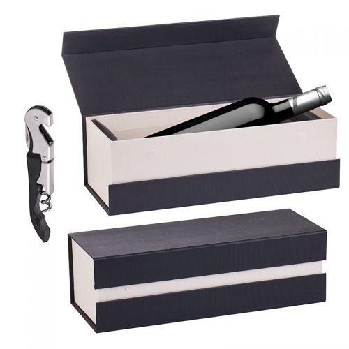 Кутия за вино с тирбушон