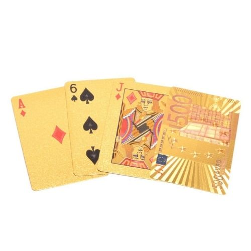 Златно тесете карти за игра на супер цена от Neostyle.bg